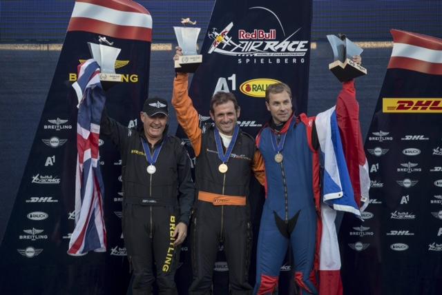 Nigel Lamb (GBR), Nicolas Ivanoff (FRA), Martin Sonka (CZE) - Award Ceremony